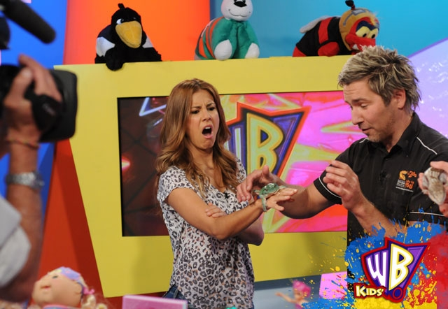 Watch Chris Humfrey on Channel GO's Kids WB with Shane Crawford and Lauren Phillips